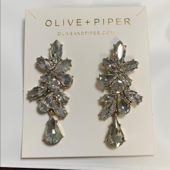 e2f3b0ae8 olive + piper Jewelry | Olive Piper Valentina Earrings | Poshmark